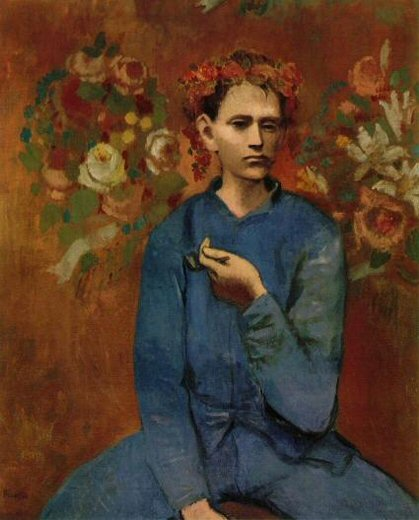 Boy with a Pipe - Pablo Picasso