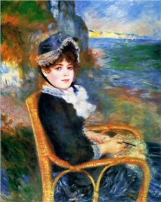 By the Seashore - Pierre-Auguste Renoir