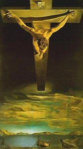 Christ of Saint John of the Cross - Salvador Dali