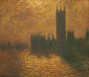 Houses of Parliament, stormy sky - Claude Monet