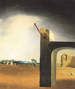 Morphological Echo - Salvador Dali