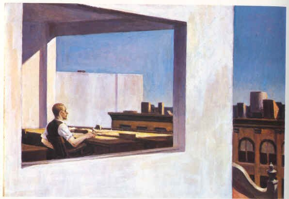 Office in a Small City - Edward Hopper