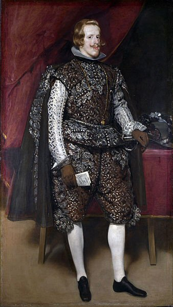 Philip IV in Brown and Silver - Diego Velázquez