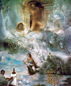 The Ecumenical Council - Salvador Dali