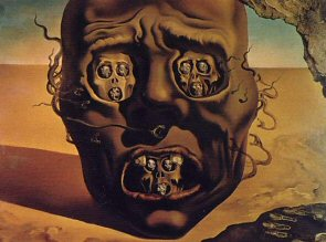The Face of War - Salvador Dali