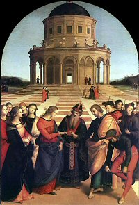The Marriage of the Virgin - Raphael