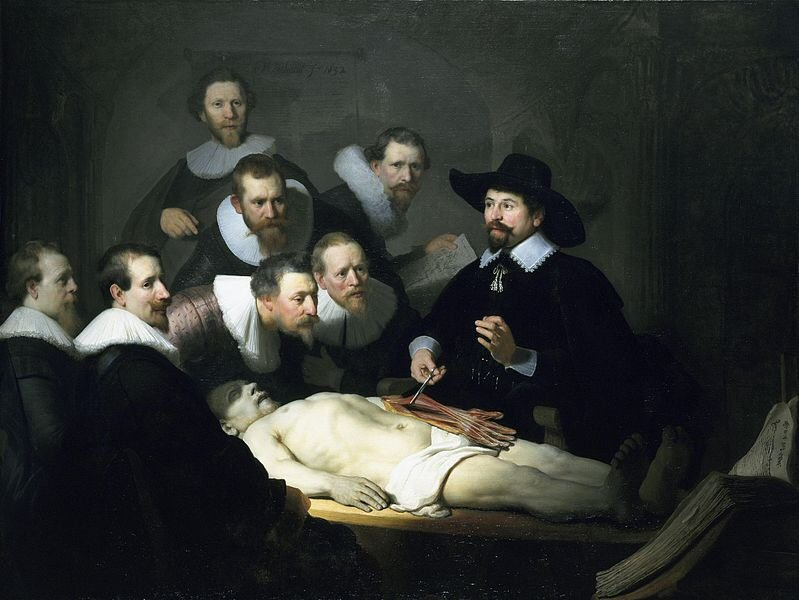 The Anatomy Lesson of Dr. Nicolaes Tulp - Rembrandt van Rijn