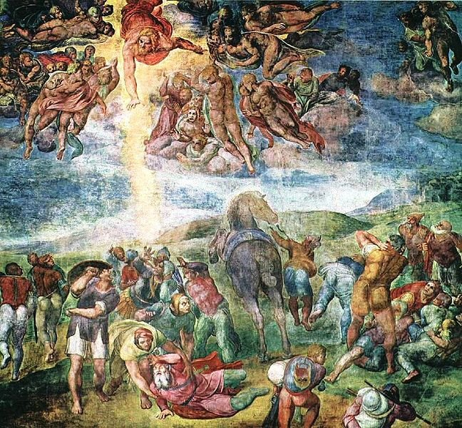 The Conversion of Saul - Michelangelo