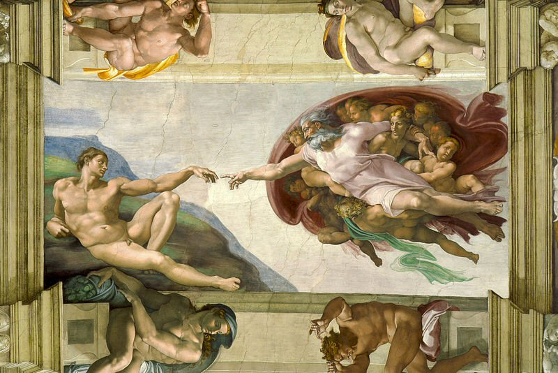 The Creation of Adam, Michelangelo