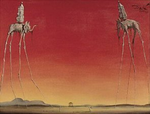 The Elephants - Salvador Dali