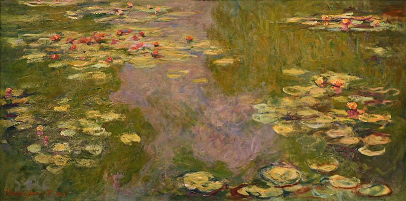 Water Lilies (1919) - Claude Monet